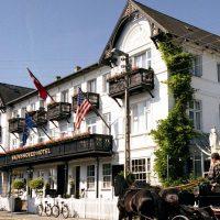Lounge på Skovshoved Hotel