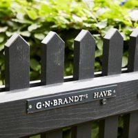 Rundvisning i G.N. Brandts Have